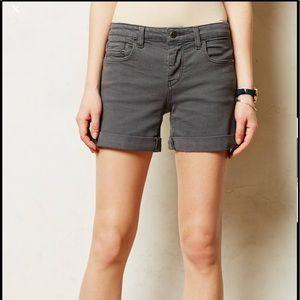 Anthro Pilcro STET roll up shorts